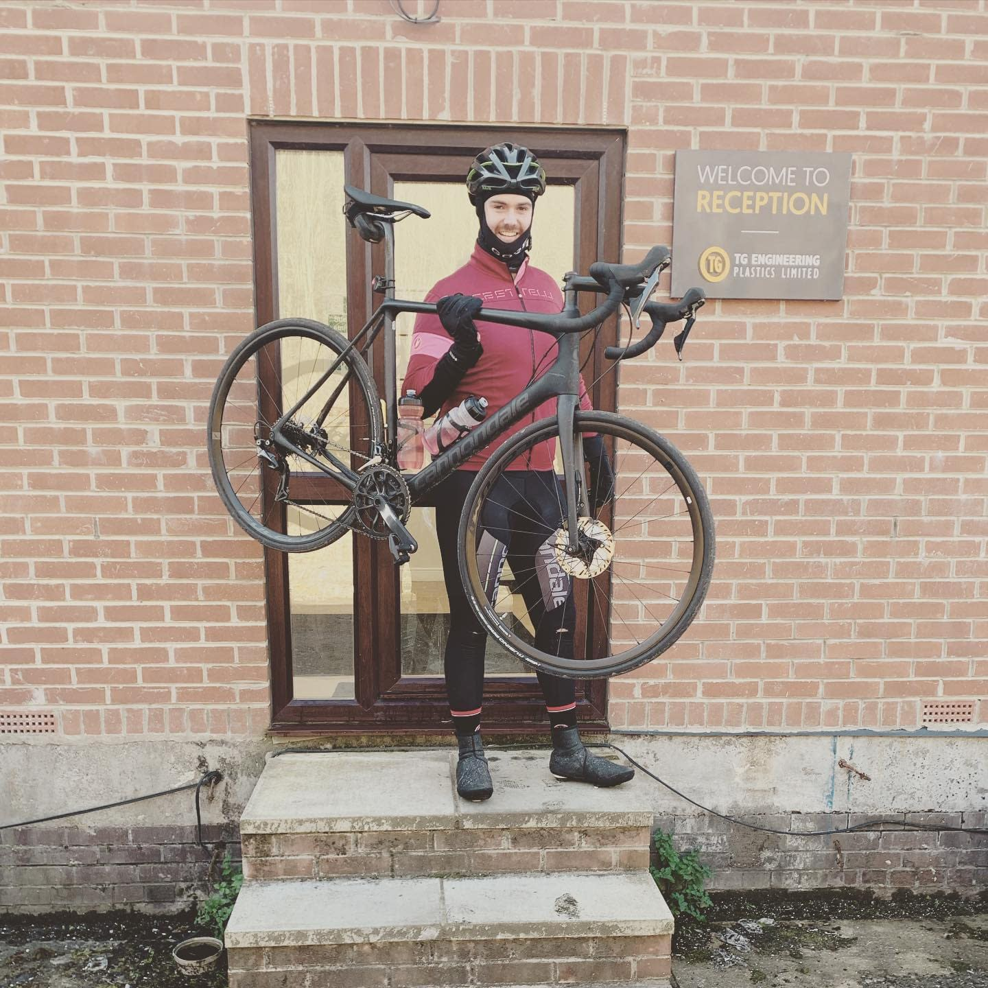 Lands End to John O Groats Charity Cycle | TG Engineering Plastics Limited