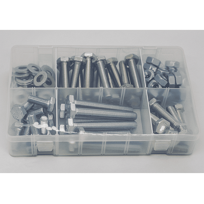 Clear Medium Plastic Organiser. Comes with x14 Dividers, 16 storage slots available.
