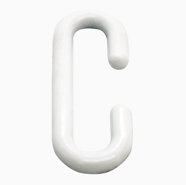 Plastic C Hooks H; 3.6cm W;1.3cm Point of Sale | TG Engineering Plastics Limited