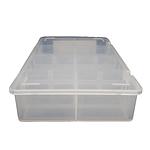 Medium Divider Box (1 & 10 Pack) 210mm L, 135mm W, 44mm H | TG Engineering Plastics Limited | Storage Boxes
